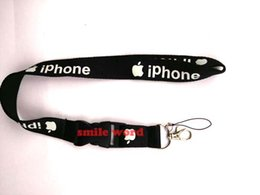 New Cell Phone Charm Australia - Free Shipping New 10 Pcs iphone Cell Phone Charm Camera Keys ID Neck Lanyard Strap