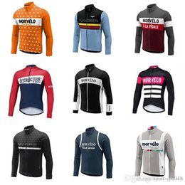Quick Dry Shirts For Men NZ - Morvelo team Cycling long Sleeves jersey Summer Cycling Jersey Bike Top Shirt Clothing Clothes For Men Sport Quick Dry D716