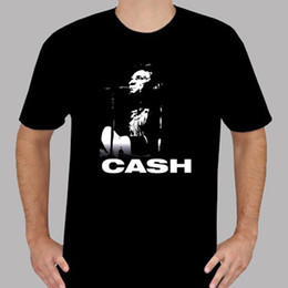 Music Man T Shirt Australia - Company T Shirts O-Neck Short New Johnny Cash Rock N Roll Music Legend Mens Black T-Shirt Size S To 3XL Design T Shirts For Men