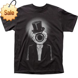 Discount rock band clothes - Rock Heavy Metal Style Authentic Licensed The Residents The Eyeball Group Band T-shirt S M L X 2X top Brand Clothing Men