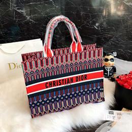 Original luxe célèbre marque designer sacs à main sac à main 2018 grande taille femmes sacs à provisions sac épaule bourses 43 * 32 * 18 cm portefeuille