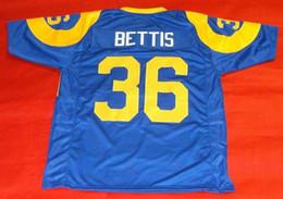 0df6436d4 Cheap retro  36 JEROME BETTIS CUSTOM MITCHELL   NESS Jersey THE BUS HOF  2015 Mens Stitching Top S-5XL