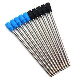 $enCountryForm.capitalKeyWord Australia - 5pc lot Hot Sale 0.7mm Metal Crystal Pen Refill Ballpoint Ball Point Pen for Writing High Quality