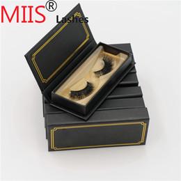 Dance False Eyelashes Australia - 3d synthetic mink lashes false eyelashes package box wholesale