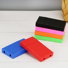 Cigarette stores online shopping - New Colorful PP Material Cigarette Cases Store Storage Box High Quality Exclusive Design Moisture proof Anti Fall Deformation Protection