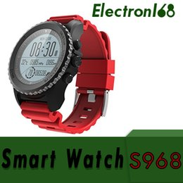 $enCountryForm.capitalKeyWord Australia - S968 Sport Smart Watch IP68 Waterproof Sleep Heart Rate Monitor Barometer Thermometer Altimeter Pedometer GPS Smart Watch 5pcs