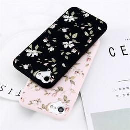 $enCountryForm.capitalKeyWord Australia - Phone Flower Case For Apple iPhone X 8 6 6s 7 Plus Fashion TPU Phone Case Cartoon Beautiful Flower Soft Cell Phone Cases
