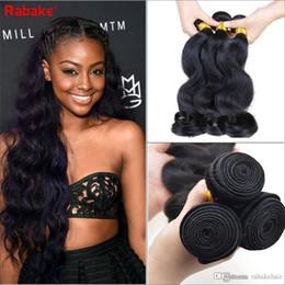 $enCountryForm.capitalKeyWord NZ - Malaysian Body Wave Human Hair Bundles Rabake Malaysian Brazilian Peruvian Raw Indian Body Wave for Black Women Virgin Hair Weave Extensions
