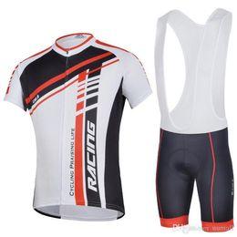 Venta al por mayor de kits de ciclismo de cheji para hombres ciclismo traje de manga corta pantalones babero venta caliente al aire libre desgaste de la bicicleta