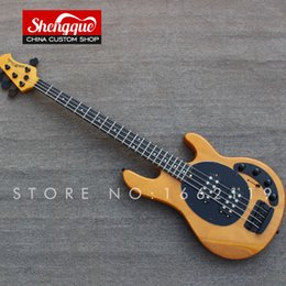 $enCountryForm.capitalKeyWord NZ - Free shipping custom Music man ernie ball Sting Ray bass 4 strings electric bass guitar Wholesale musical instrument shop