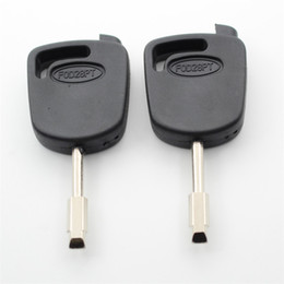 $enCountryForm.capitalKeyWord Canada - 10Pcs lot For Ford Mondeo Blank Transponder Key Shell Can Install Chip S40