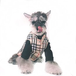 China Pet Dog Winter Striped Vest Teddy Puppy Schnauzer Fashion Apparel Fashion Sleeveless Outwears For Pet Cat Dog supplier jackets for pets suppliers