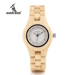 $enCountryForm.capitalKeyWord UK - Women's Watches Quartz Wristwatches BOBO BIRD O10 Bamboo Women Watches Crystal Dial Ladies Quartz Dress Watch in Wooden Box