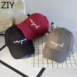 $enCountryForm.capitalKeyWord NZ - stylish snapback cap letter new york embroidery baseball cap men women brand adjustable bone trucker gorras hip hop dad hat