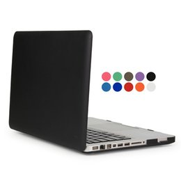"Macbook 11 Australia - Frosted Surface Matte hard Cover Case For New Macbook 12'' Air 11"" 13"" Pro 13"" 15"" Pro Retina 13"" 15"" Laptop Case"