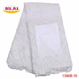 $enCountryForm.capitalKeyWord Canada - African Lace Fabric 2018 High Quality Net Lace French Guipure Nigerian Tulle Mesh Lace Fabrics For Wedding Dresses XY1586B-10