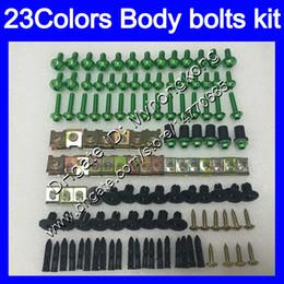 China Fairing bolts full screw kit For KAWASAKI NINJA ZX2R ZXR250 1990 1991 1992 ZX 2R ZXR 250 ZX-2R 90 92 Body Nuts screws nut bolt kit 25Colors cheap kawasaki ninja zx 2r suppliers