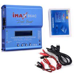 $enCountryForm.capitalKeyWord UK - IMAX B6AC Digital AC 80W Lipo NiMH Nicd Lithium Battery Balance Charger Discharger With LCD Screen Power Supply EU Plug RC B6