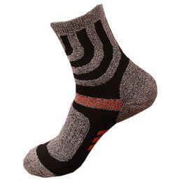 577b38fea99a Wholesale- 4 Pairs lots Winter Thicken Terry Towel Sock Mens Socks Coolmax Men  Socks Man Quick-Drying Fashion Sock