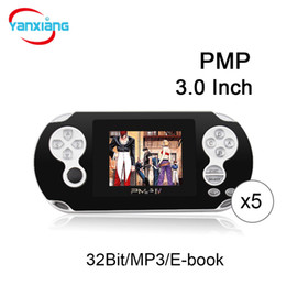 Chinese  5PCS Portable Game Players 3.0 Inch Screen 32Bit Handheld Game Console Support GBA FC SEGA Games Box DHL YX-GBA-4 manufacturers
