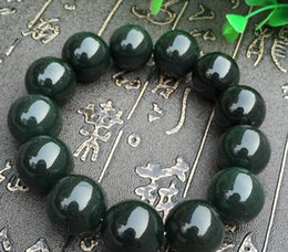 Jewelry & Accessories Beads 100 Pcs Fine Jewelry Natural Xinjiang Hetian Green Jade Loose Leather Diy Beads Diy Accessories Beads Perfect In Workmanship