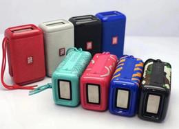 Wholesale Multi Function Speakers Australia - New TG163 wireless bluetooth speaker outdoor portable multi-function dual speaker card subwoofer small stereo