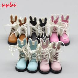 Christmas Gift Shoes Australia - Fashion Cute BJD Doll shoes cartoon Shoes for1 6 & 1 8 doll Mini for baby Christmas Gift