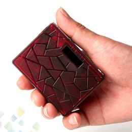 Solid Battery Australia - Authentic Teslacigs DB219 Box Mod 219W Max Output Made of Solid Material PEI 3 Colors fit 18650 battery 510 Atomizers DHL Free