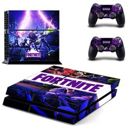 hand controller 2018 - 6 Designs Game Fortnite Battle Royal PS4 Slim Skin Sticker For PlayStation Hand Controllers Decal Vinyl Kids Toys Gift d