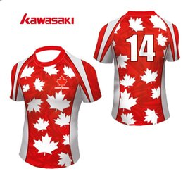 3ed8e763618 Wholesale- 2017 Kawasaki Rugby Jersey Mens N Women Short Youth Custom Quick  Dry Sports Team Wear Jerseys T Shirts Plus Size XS-4XL