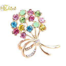 61b11b6e34d ZHIXI Simple And Stylish Brooch Jewelry Fine Brooches Brand Luxury Shiny  Zircon Jewelry Brooch Trendy Party Gift For Women B152