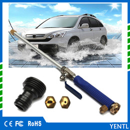 Wholesale free shiping Alloy Wash Tube Hose High Pressure Power Water Car Garden Nozzle Gun Spray Tips Jet Washer Nozzle Gun pistola de pressao