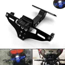 $enCountryForm.capitalKeyWord NZ - For 5Color Motorcycle License plate Adjustable Aluminum License Plate Frame Holder Bracket For DUCATI MONSTER 620 696 796 821 1200 DIAVEL