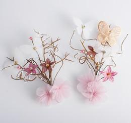$enCountryForm.capitalKeyWord UK - Bridal headwear super fairy wedding dress Princess sweet flower hairpin hair accessories
