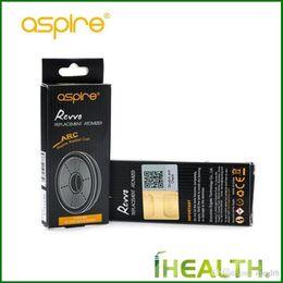 Discount boost pack 100% Authentic Aspire Revvo ARC Coil 0.1ohm-0.16ohm head Aspire Revvo Boost Coil 0.1-0.14ohm 3PCS PER PACK