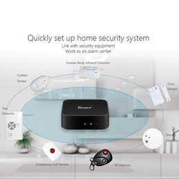 Wholesale 2018 New Sonoff RF Bridge WiFi MHz Replacement Smart Home Automation Universal Switch Intelligent Domotica Wi Fi RF Remote Controller