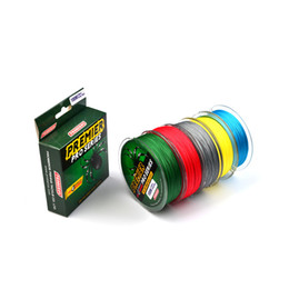 China PREMIER PRO Series Braid Fishing Line 4 Strand Spectra Ocean Rock lines 100m PE wire Fiber From Japan 18lb~100lb Remarks Colors suppliers