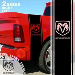 $enCountryForm.capitalKeyWord Australia - For 1500 2500 3500 Truck Bed Side Stripes Vinyl Decals Sticker Graphics DS007C
