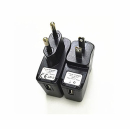 $enCountryForm.capitalKeyWord UK - EGO Wall Charger Black USB AC Power Supply Wall Adapter Adaptor MP3 Charger USA Plug work for EGO-T EGO 510 Thread Battery
