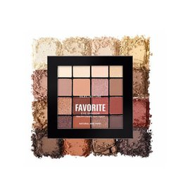$enCountryForm.capitalKeyWord UK - Beauty Glitter Eyeshadow Make up Palette Metallic Shimmer Pigmented Cosmetics 16 Color Bold Creamy-rich Warm Bright Set