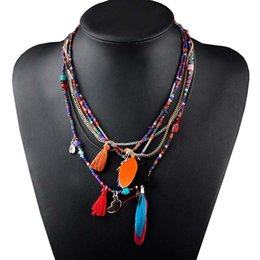 Personalised necklaces australia new featured personalised personalised necklaces australia multi color feather necklaces pendants beads chain statement necklace women aloadofball Image collections