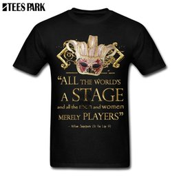 25887f794ac9 DIY Special T shirt Shakespeare As You Like It Stage Quote Novelty T Shirts  Vintage Shirt Low Price Teenage 3d Men