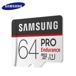 Samsung оригинальный профессиональный выносливость 4K 8K видео съемки 64 ГБ Micro Card Class10 U1 MB-MJ64GA SDHC SDXC UHS Бесплатная доставка.