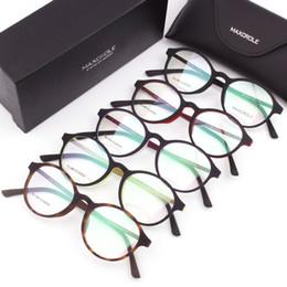 Myopia Glasses Mens Australia - Soft Touch Rubber Injection Titanium Light Flex Round Retro Eyeglasses, Myopia Mens Women Prescription Glass Oculos de grau 2017