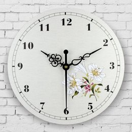 $enCountryForm.capitalKeyWord Canada - absolutely silent bedroom decor wall clock Mediterranean style home decoration wall clock waterproof face decor watch