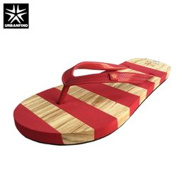 f0f5a126e2c wholesale Striped Design Women Casual Summer Slippers Size 36-41 New Fashion  Lady Slip-on Flip Flops Blue Red Colors