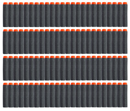 Nerf Guns Wholesale Australia - 10 Color 2.87' For NERF N-Strike Elite Series Refill Blue Soft Foam Bullet Darts Gun Toy Bullet In Stock