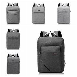 Travel lapTop charger online shopping - USB Oxford Backpack Student Double Shoulder Bag Leisure Computer Bag With USB Charger Laptop Travel Adults Kids Backpack LJJO5305