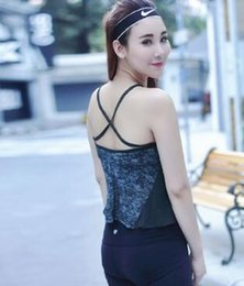 Body Fitness Suit Australia - Sexy sports yoga jacket running vest women's fitness quick dry sling slim body breathable sweat yoga suit