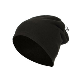 used bicycles for wholesale 2019 - Winter Outdoor Caps and Scarf Dual Use For Men Cotton Warm Windproof Cap Running Hiking Bicycle Thermal Fleece Hat cheap